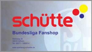 Schütte Bundesliga Shop